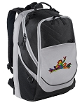 Peace Frogs Laptop Backpack