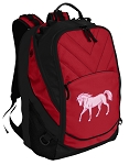 Cute Horse Laptop Computer Backpack