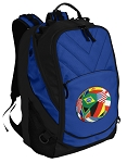 Soccer Deluxe Computer Backpack Blue