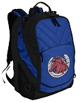Horse Deluxe Computer Backpack Blue