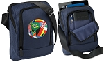 Soccer Tablet or Ipad Shoulder Bag Navy