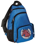 Horse Sling Backpack Blue