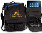 Peace Frogs Tablet Bags & Cases Blue