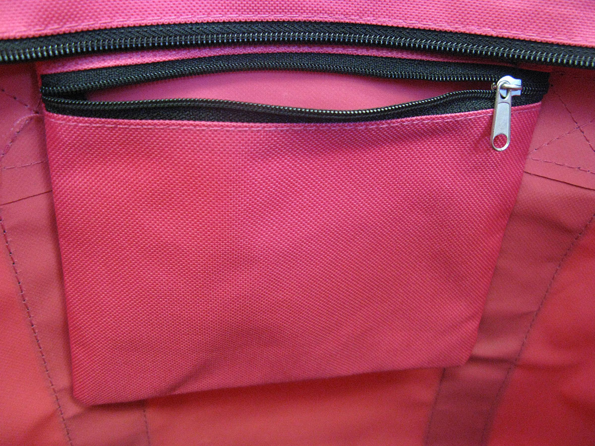 5c19cf66fc41 Deluxe Pink Michigan State University Peace Frog Tote Bag