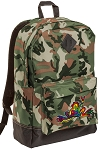 Peace Frogs Camo Backpack