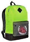 Horses Backpack HI VISIBILITY Green CLASSIC STYLE