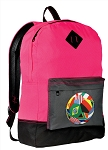 Soccer Backpack HI VISIBILITY Pink CLASSIC STYLE
