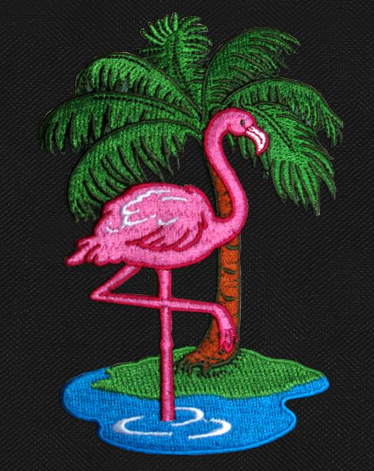 Pink Flamingo Camo Duffel Bags