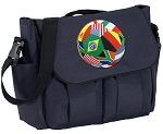 Soccer Diaper Bag Navy