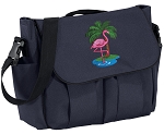 Flamingo Diaper Bag Navy