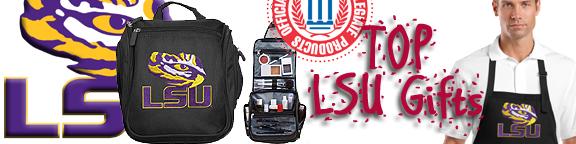 Broad Bay Jumbo LSU Tote Bag or Large Canvas LSU Shopping Bag