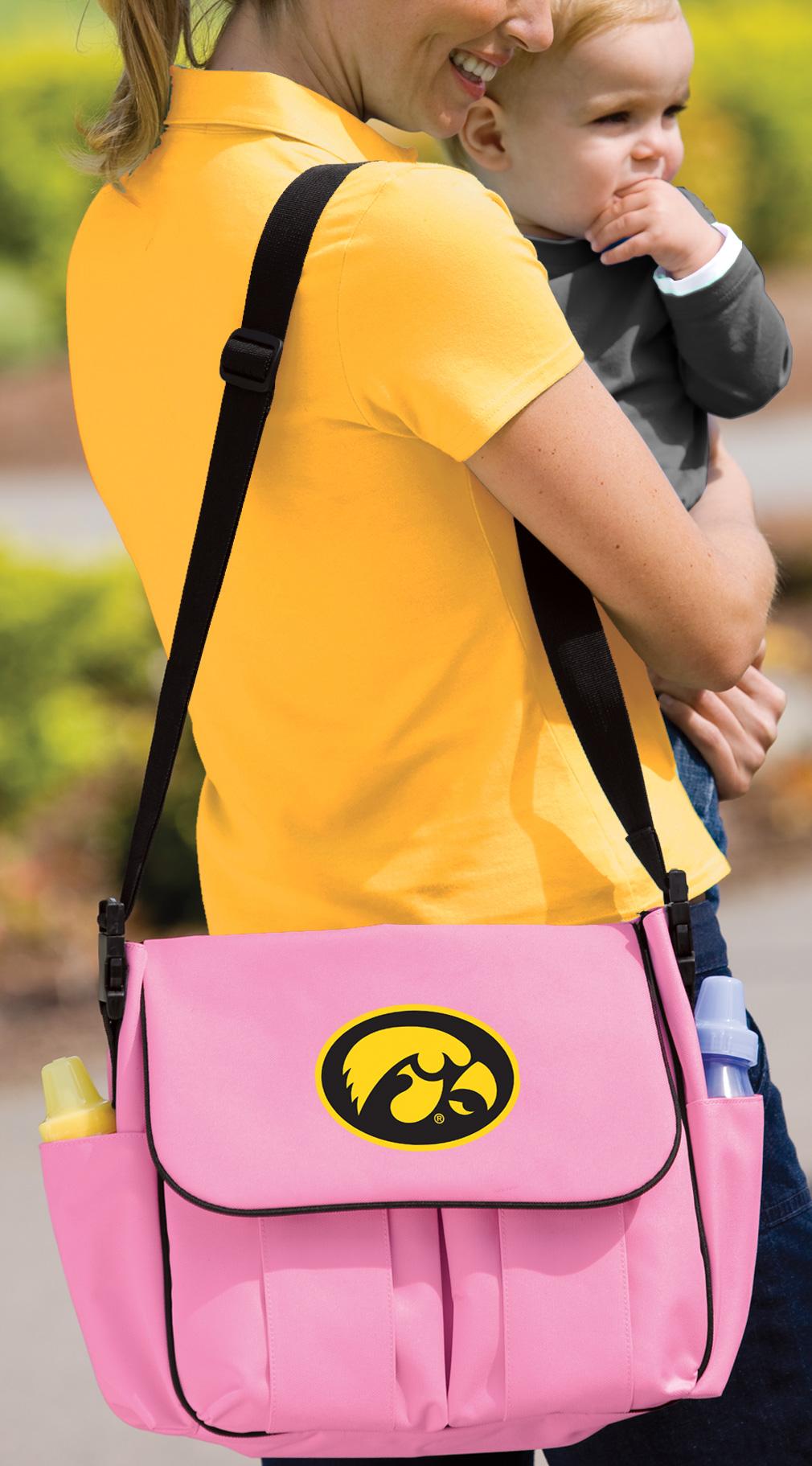 University Of Iowa Hawkeyes Diaper Bag