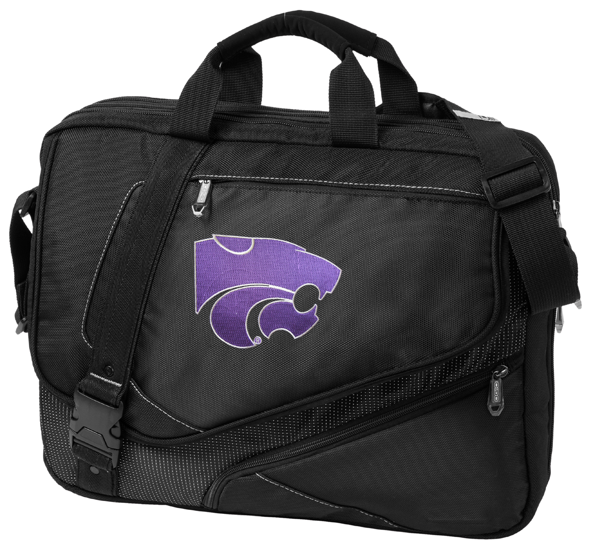 Broad Bay NCAA Kansas State Duffel Bag K-State Gym Bags w//Shoe Pocket