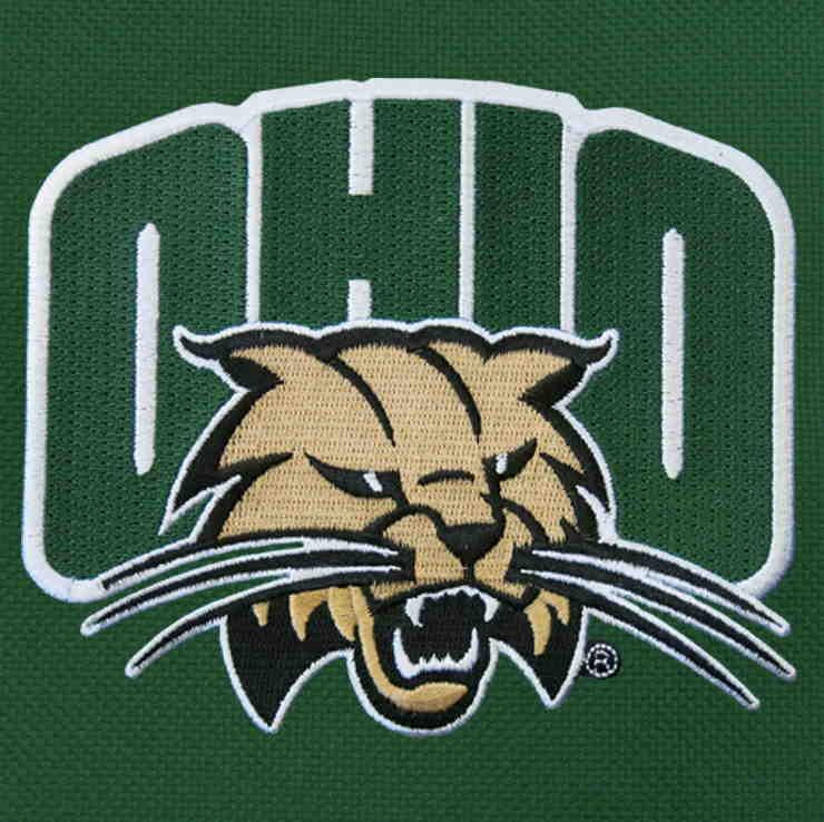 Ohio University Bobcats Messenger Bag Green
