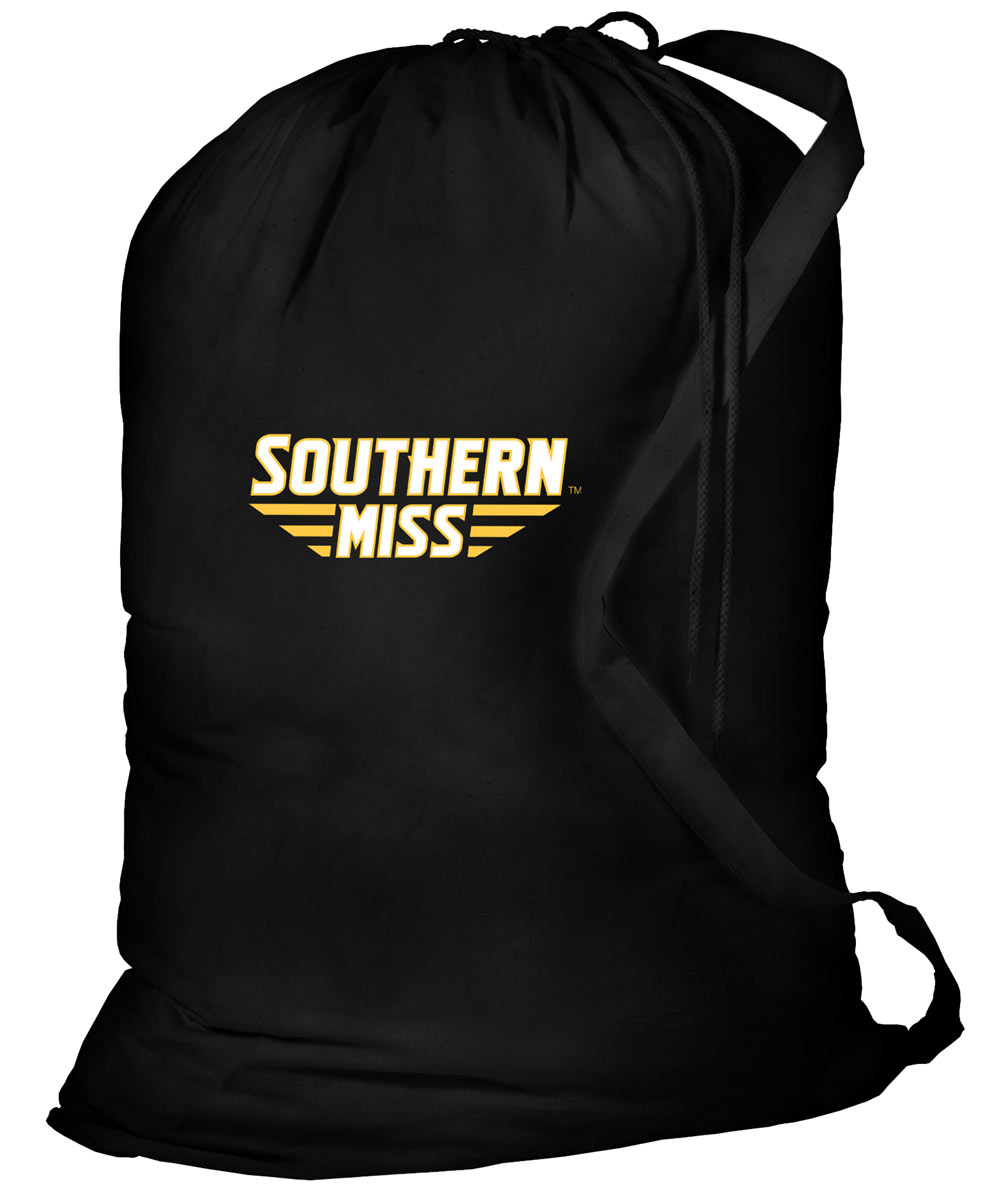 245bb366b5 USM Southern Miss Laundry Bag Black