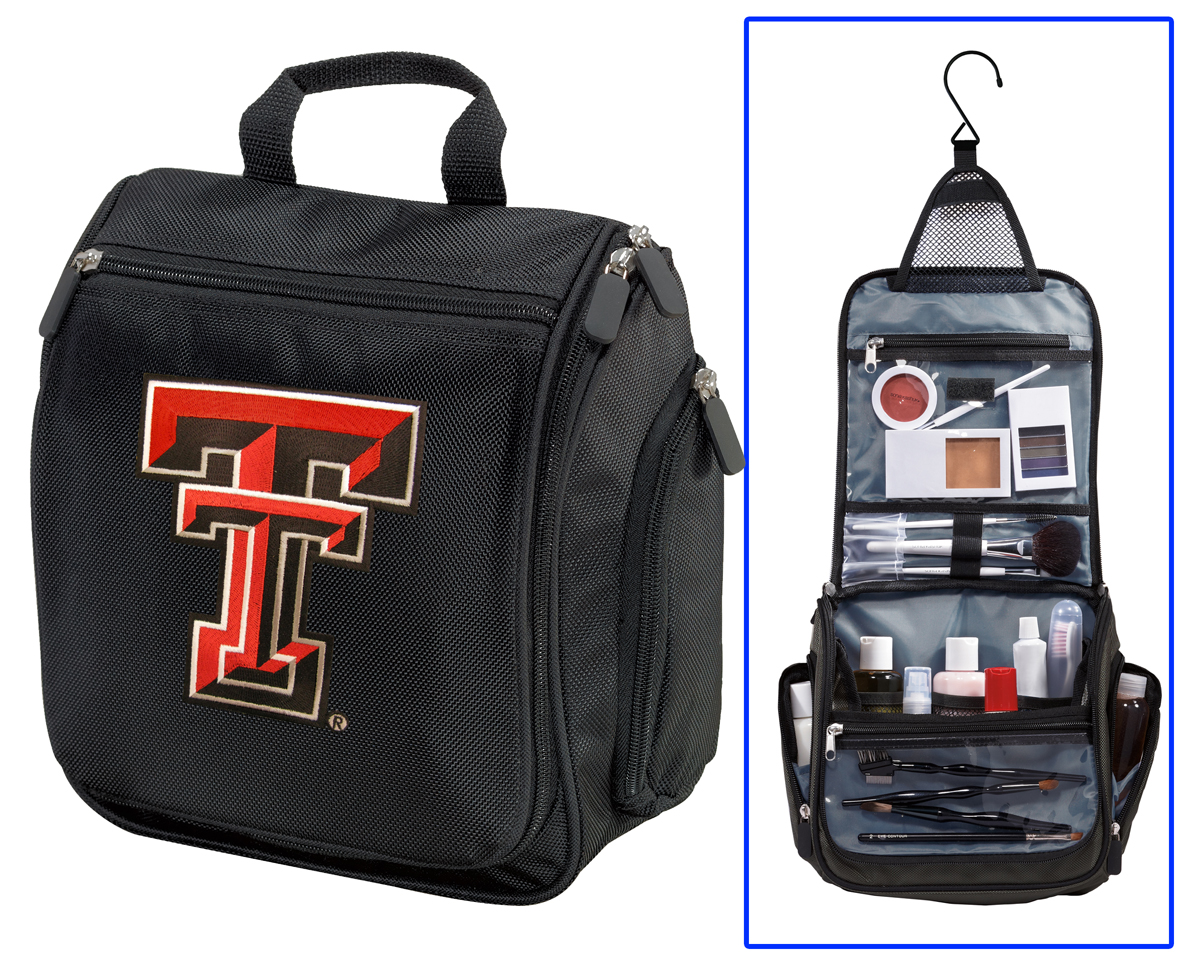 Toiletry Bag Or Texas Tech Red Raiders