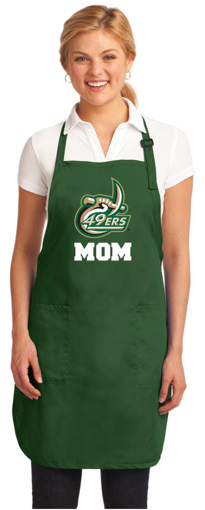 Official Uncc Mom Apron Unc Charlotte Mom