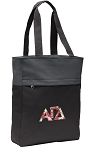 Alpha Gamma Tote Bag Everyday Carryall Black