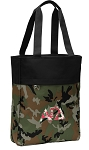 Alpha Gamma Tote Bag Everyday Carryall Camo