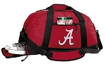 University of Alabama Duffle Bag Red