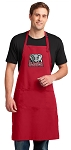 Alabama Large Apron Red