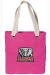 Alabama Tote Bag RICH COTTON CANVAS Pink