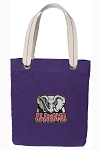 Tote Bag RICH COTTON CANVAS Purple