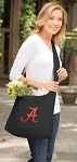 University of Alabama Tote Bag Sling Style Black