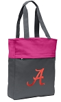 University of Alabama Tote Bag Everyday Carryall Pink