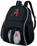 University of Alabama Ball Backpack Bag
