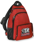 Alabama Backpack Cross Body Style Red