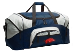 Large University of Arkansas Duffle Arkansas Razorbacks Duffel Bags