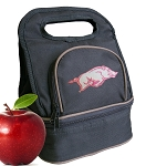 University of Arkansas Lunch Bag Black