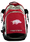 University of Arkansas Harrow Field Hockey Backpack Bag Red
