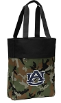 Auburn Tote Bag Everyday Carryall Camo