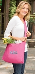 Alpha XI Tote Bag Sling Style Pink