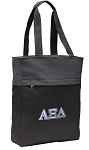 Alpha Xi Tote Bag Everyday Carryall Black