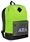 Alpha XI Backpack Classic Style Fashion Green