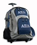 Alpha XI Rolling Backpack Navy