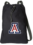 Arizona Wildcats Cotton Drawstring Bag Backpacks