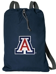Arizona Wildcats Cotton Drawstring Bag Backpacks Cool Navy