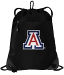 Arizona Wildcats Drawstring Backpack-MESH & MICROFIBER