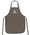 Official Arizona Wildcats Logo Apron Tan