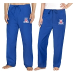 University of Arizona Wildcats Scrubs Bottoms Pants ROYAL BLUE