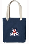 Arizona Wildcats Tote Bag RICH COTTON CANVAS Navy