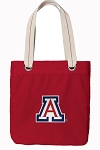 Arizona Wildcats Tote Bag RICH COTTON CANVAS Red
