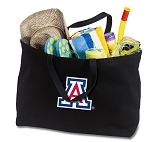 Arizona Wildcats Jumbo Tote Bag Black