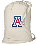 Arizona Wildcats Laundry Bag Natural