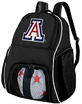 University of Arizona Soccer Backpack or Arizona Wildcats Volleyball Bag For Boys or Girls