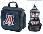 Arizona Wildcats Hanging Travel Toiletry Bag or University of Arizona Shaving Kit Organizer for Him Navy
